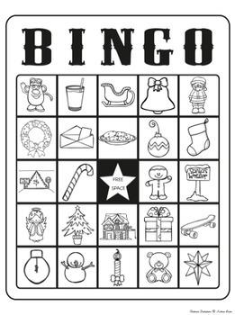 Christmas Descriptions-Compare, Describe, Label & Bingo