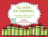 Christmas Descriptive Writing- What I Want for Christmas