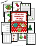 Christmas Descriptive Writing Activities, Graphic Organize