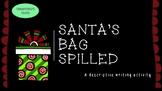 Christmas Descriptive Writing Activity