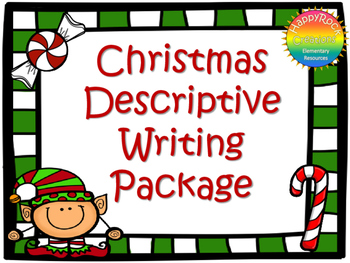 Christmas Descriptive Writing Package