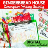 Christmas Descriptive Writing for Middle School (Gingerbre