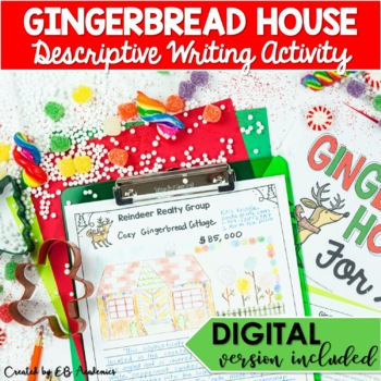 christmas descriptive writing for middle school gingerbread house  christmas descriptive writing for middle school gingerbread house for sale