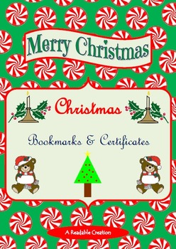 Christmas Bookmarks and Certificates