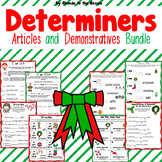 Christmas Determiners - Articles and Demonstratives