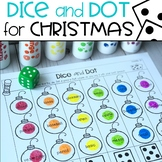 Christmas Dice & Dot For Speech & Language FREE