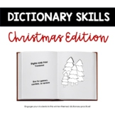 Christmas Dictionary Skills