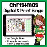 Christmas Digital Bingo | Google Classroom & Printable