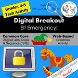 Christmas Digital Breakout Christmas Escape Room Christmas Breakout 2 WEBSITE