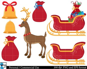 Christmas Digital Clip Art Graphics 41 images cod43
