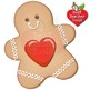 Christmas Digital Clipart, Gingerbread Cookie Clipart, Christmas Baking AMB-1502