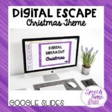 Christmas Digital Escape (Google Slides)