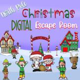 Christmas Digital Escape Room-ELA Skill-Based!