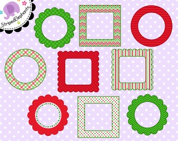 Christmas Digital Frames