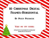 Christmas Digital Frames - horizontal