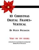Christmas Digital Frames - vertical