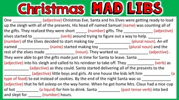 Christmas Digital Literacy Resource for use with Google Slides