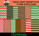 Christmas Digital Paper / Backgrounds