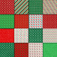 Christmas Digital Paper Pack - 16 Different Papers - 12inx12in