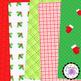 Christmas Digital Papers Jubilant