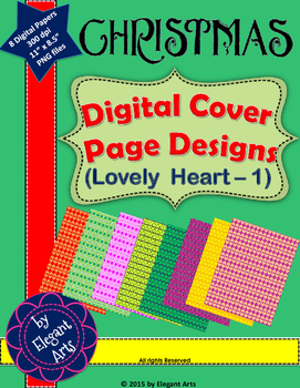 Christmas - Digital Papers (Lovely Heart-1)