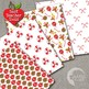 Christmas Digital Papers,Traditional Holiday Backgrounds AMB-1101