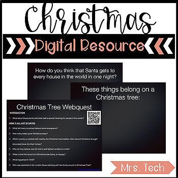 Christmas Digital Resource