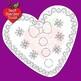 Christmas Digital Stamps, Gingerbread Digital Stamp Clipart, Black Line AMB-1507