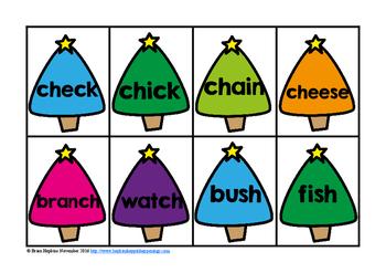 Christmas Digraph Words