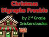 Christmas Digraphs FREEBIE