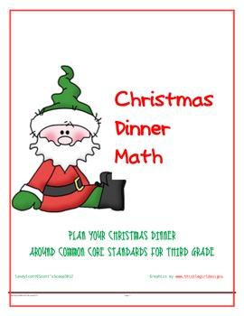 Christmas Dinner Math