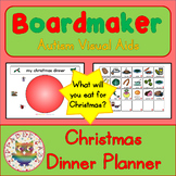 Christmas Dinner Planner - Boardmaker Visual Aids for Autism SPED