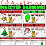 Christmas Directed Drawing Activities for Google Classroom