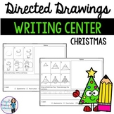 Christmas Directed Drawing Writing Center