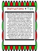 Christmas Directional Words Practice