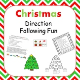 Christmas Directional Words Practice