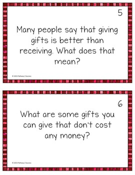 Christmas Discussion Cards