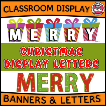 Christmas Display Letters