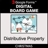Christmas: Distributive Property - Digital Board Game | Go