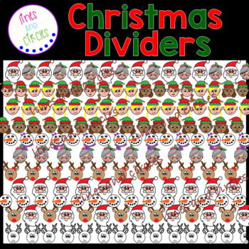 Christmas Dividers