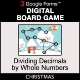 Christmas: Dividing Decimals by Whole Numbers - Digital Bo