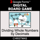 Christmas: Dividing Whole Numbers by Decimals - Digital Bo