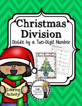Christmas Math - Division