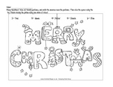 Christmas Division & Coloring 2
