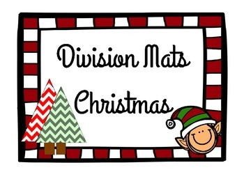 Christmas Division Mats