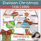 Christmas Division Equations and Word Problem Activity