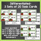 Christmas Division Task Cards - 3 Sets Differentiated