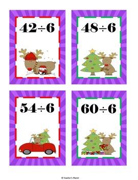 Christmas Math Games -  Division War!