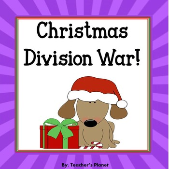 Christmas Math Games -  Division War!