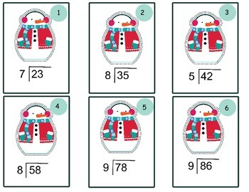 Christmas Division with Remainders Differentiated